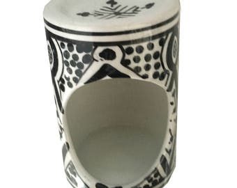 porcelain OIL diffuser - BLACK