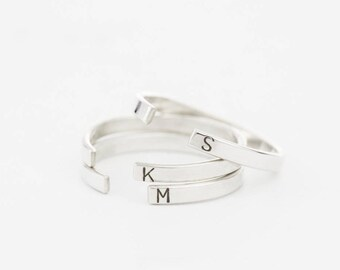Open Band Ring • Stacking Ring •  Simple Personalized Ring • Custom Stackable Handmade 14k Gold Fill or Silver Ring by GLDN • Meuse Ring