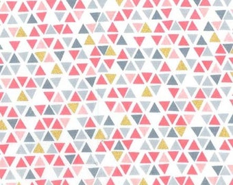 QUILTING COTTON Michael Miller Pyramids Quilting Cotton. Sold by the 1/2 yard