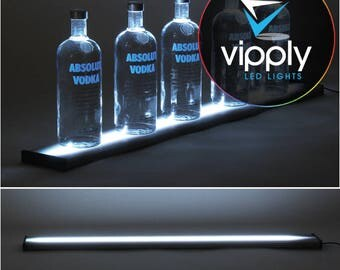 "36""  LED Bar Shelf, Bottle Display, Light Shelf, Display Shelf, Liquor Bottle Shelving"
