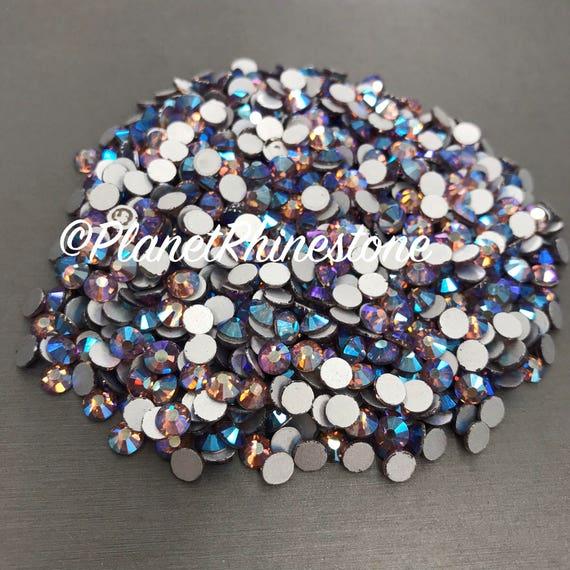 Light Amethyst AB / 10 Gross / SS20 / Flat back / Egyptian Crystals