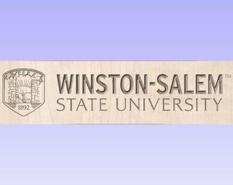 Winston-Salem State University (WSSU) Gift Box (Your Choice of Images on 5 sides)