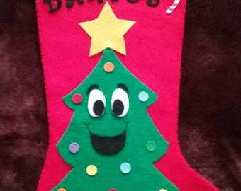 All Smiles Christmas Stocking