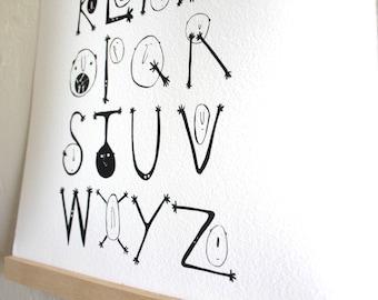 The Handsy Alphabet