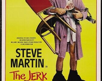 Back to School Sale: THE JERK Movie Poster 1979 Steve Martin Carl Reiner