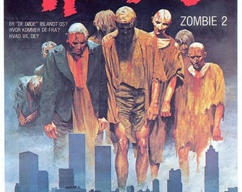 ON SALE NOW: Zombi 2 Movie Poster Rare Zombies