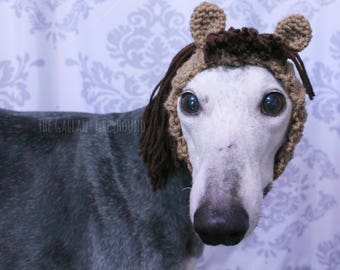 Horse Snood for Greyhounds