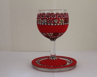 OOAK kiddush wine cup,there is no other like this ,all hand made and waiting to be part  of your home gift for your loved ones