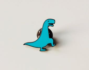 Dinosaur | T-Rex | Cute | Pin | Badge | Retro | Hipster | Upcycle | Accessory | Modify