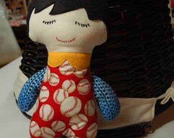 Darling Classic Doll - Boy // gift // birthday gift // ring bearer gift // affordable doll // stuffed doll // cloth doll
