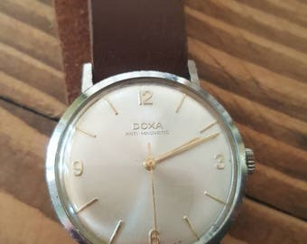 Vintage Doxa Watch  - swiss made - 1960's