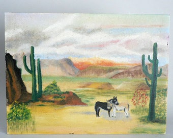 Vintage Original Southwest Painting