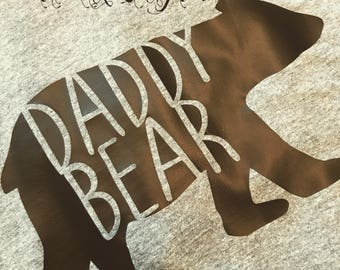 Daddy Bear Tee/Raglan