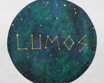 """original painting """"lumos II"""""""