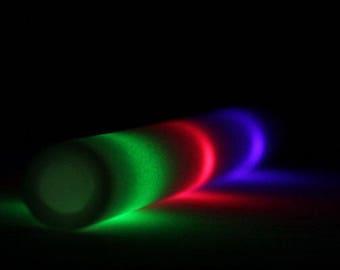 Multicolor Foam Stick Baton For Weddings ,Foam Glow Stick, Foam Glow Batons, Glow Sticks Wedding, Foam Glow Sticks, Glow Sticks