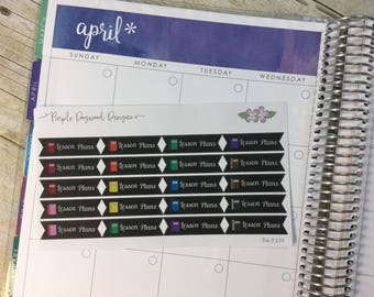 Chalkboard Teacher Planner Lesson Plans Stickers