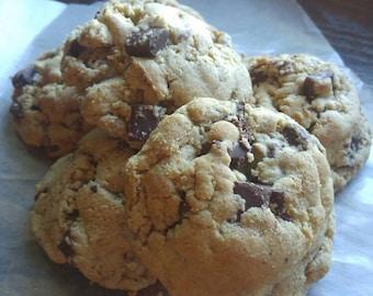 Gluten Free Chocolate Chunk Cookies