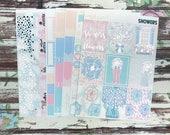 PRESALE FOIL Showers Deluxe Kit, planner stickers