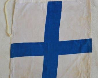 Vintage Signal Flag Etsy