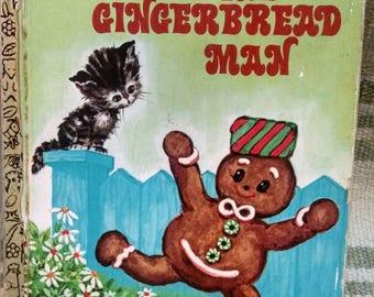 Golden Book The Gingerbread Man