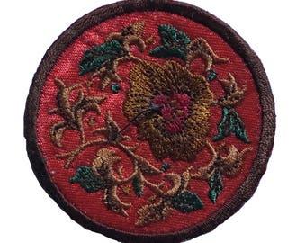 Vintage Oriental Flower Patch