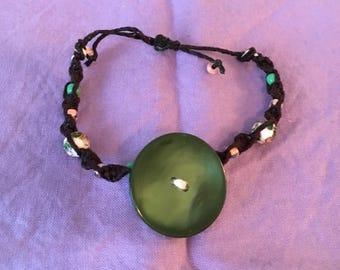 Button Your Friendship Bracelet