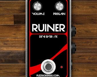 devi ever : fx - Ruiner