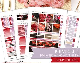 PRINTABLE FULL KIT: Sweet Gifts/Erin Condren Vertical/Printable/Digital/Weekly Kit