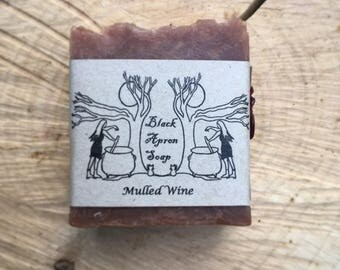 Mulled Wine Soap (guest size)