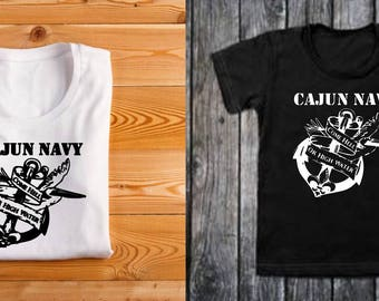 Cajun Navy T-Shirt, Louisiana Cajun Navy Rescue, I support Louisiana