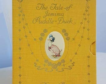 Beatrix Potter- The Tale of Jemima Puddle Duck - Deluxe Centenary Edition 1995
