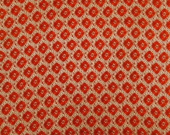 """Printed Fabric, Dress Material, Beige Fabric, Quilting Fabric, Sewing Crafts, 45"""" Inch Cotton Fabric By The Yard ZBC8378D"""