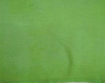 """Solid Pattern Silk Blend Fabric, Green Fabric, Sewing Decor, Upholstery Fabric, 44"""" Inch Dress Fabric By The Yard ZS50F"""