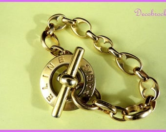 Vintage bracelet from brand CELINE Paris France vintage fashion France vintagefr France vintage French couture