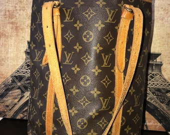 Louis Vuitton Monogram Canvas Vintage GM Bucket Bag