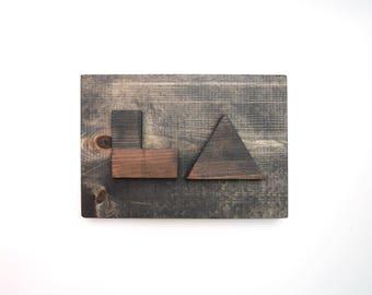 LA - Minimalist Wood Sign