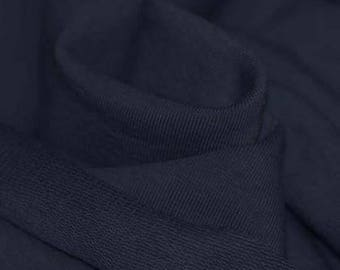 Navy Blue French Terry