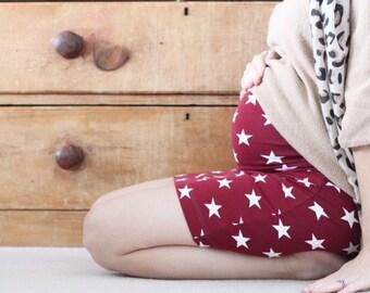 Maternity Skirt Berry Lovely