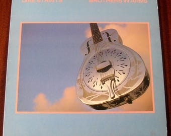 Brothers In Arms by Dire Straits Vintage Vinyl LP 1985 VG