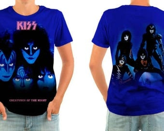 KISS creatures of the night shirt all sizes