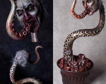 Lovecraft's Homunculus - ooak hand made horror art sculpture