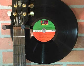 "AC/DC If You Want Blood You Got It / 12"" LP Vinyl Record Guitar Hanger"