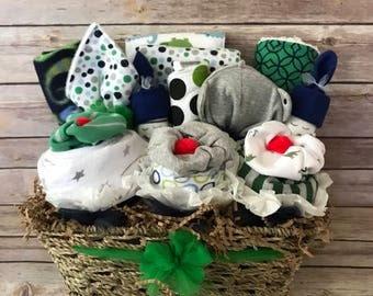 Baby gift basket etsy baby layette baby gift basket baby shower gift gift basket baby boy negle Image collections