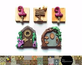 Fairies Welcome Magnet Set