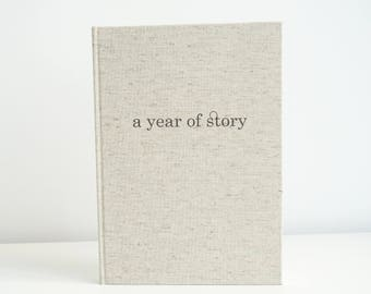 MADE TO ORDER - Handmade Notebook B5 - Original Journal - Blanc Diary
