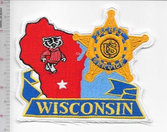 Secret Service USSS Wisconsin Madison Field Office Badgers Agent Service Patch