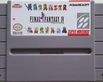 Final Fantasy IV Retranslation- SNES Reproduction