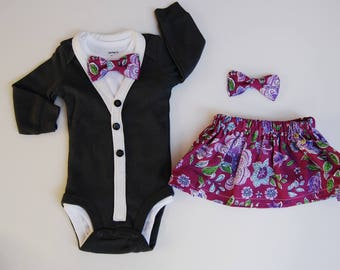 Boy and Girl Twin Easter Outfits