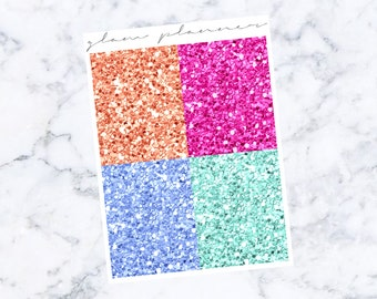 InstaGlam Glitter Headers