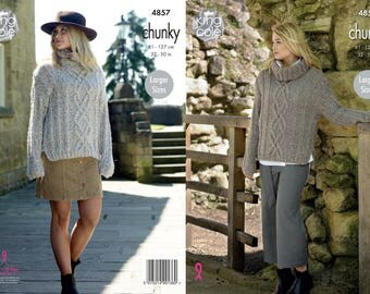 Ladies Sweaters Knitting Pattern